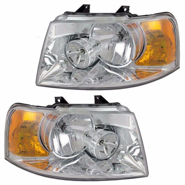 Damon Outlaw Headlight Head Lamp Assembly Pair (Left & Right)