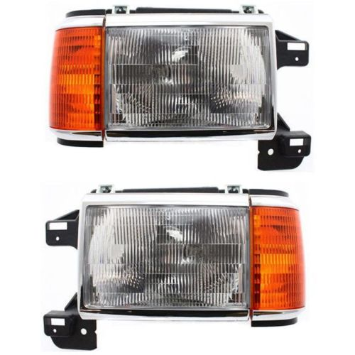 Fleetwood Discovery Replacement Headlight & Corner Light Assembly Pair (Left & Right)