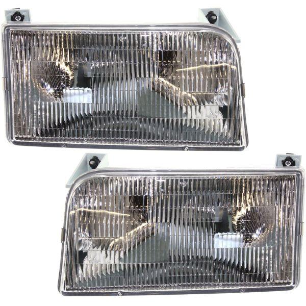 Damon Ultrasport (Class A) Replacement Headlight Assembly Pair (Left & Right)
