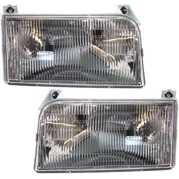 National RV Sea Breeze Headlight Assembly Pair (Left & Right)