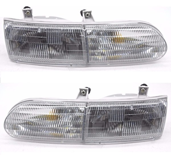 Gulf Stream Yellowstone Replacement Headlight Unit Pair (Left & Right)