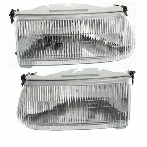 Alfa Founder Replacement Headlight Assembly Pair (Left & Right)