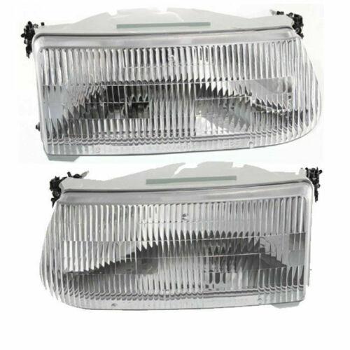Coachmen Santara Replacement Headlight Assembly Pair (Left & Right)