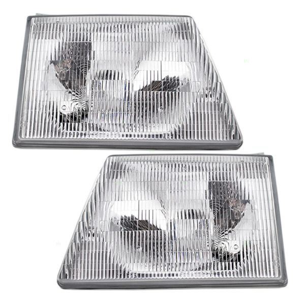 Vision Condor (Class C) Replacement Headlight Assembly Pair (Left & Right)