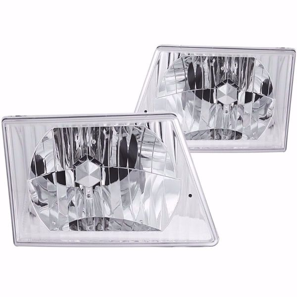 Damon Challenger Diamond Clear Headlights unit Pair (Left & Right)