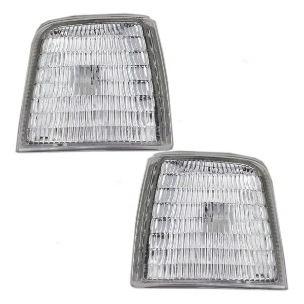 Thor Motor Coach Pinnacle Corner Side Marker Lamps Unit Pair (Left & Right)