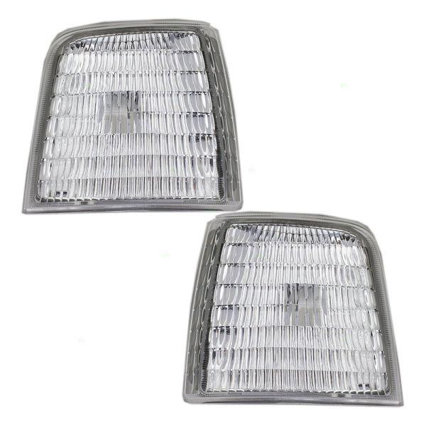Tiffin Allegro (35ft) Corner Side Marker Lamps Unit Pair (Left & Right)