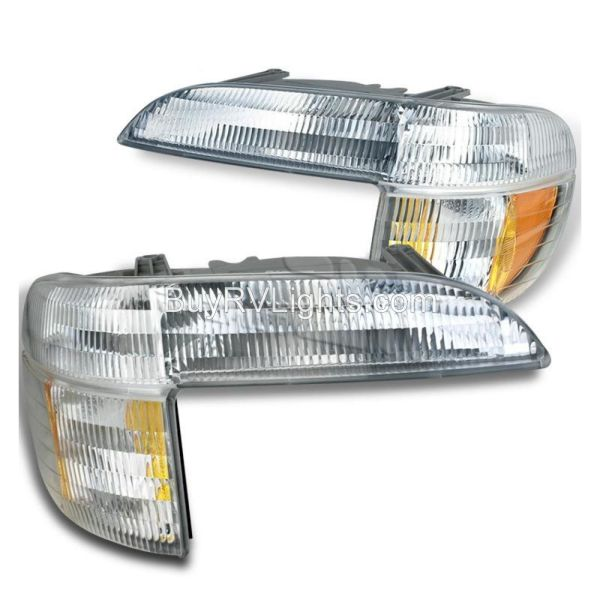 Country Coach Intrigue Ovation Corner Turn Signal Lamps Unit Pair (Left & Right)