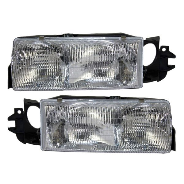 Vision Condor (Class A) Headlight Assembly Pair (Left & Right)