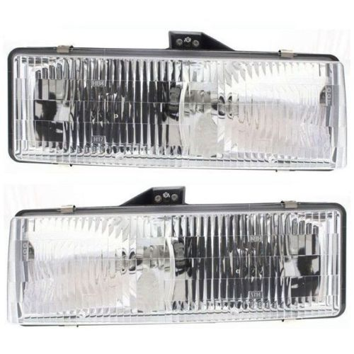 Fleetwood Pace Arrow (35R) Replacement Headlight Assembly Pair (Left & Right)