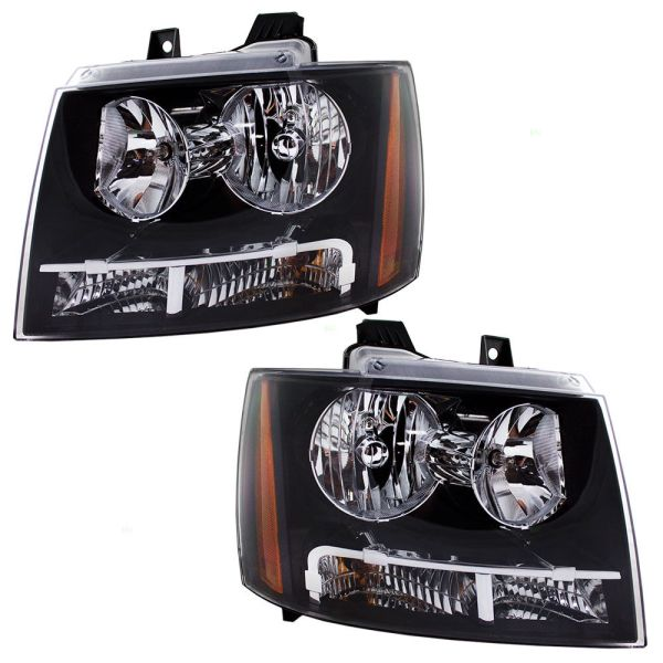 Fourwinds Windsport Replacement Headlight Head Lamp Assembly Pair (Left & Right)
