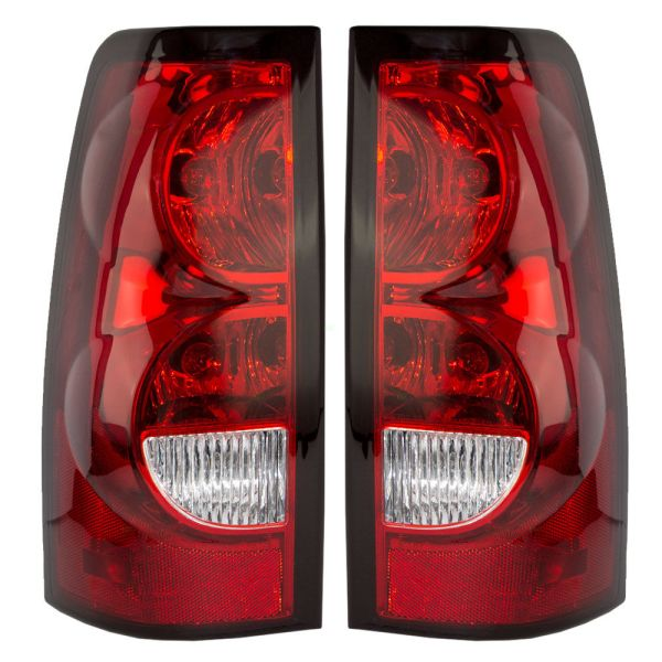 Country Coach Affinity Red Halogen Bulb  Tail Light Assembly Pair (Left & Right)