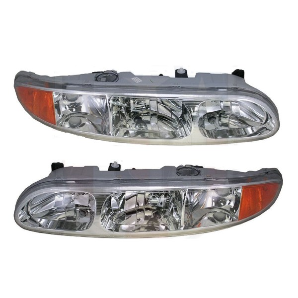 Newmar Northern Star Replacement Headlight Head Lamp Assembly Pair (Left & Right)