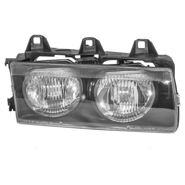 Fleetwood American Tradition Right (Passenger) Replacement Headlight Assembly