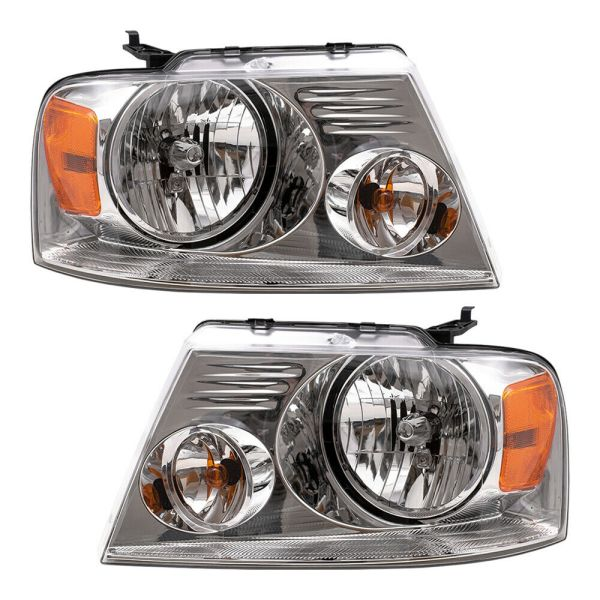 Monaco Dynasty Replacement Headlights Unit Pair (Left & Right)