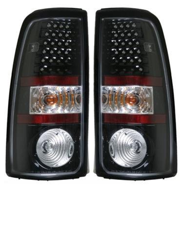 Tiffin Zephyr Black LED Lower Tail Light Assembly Pair (Left & Right)