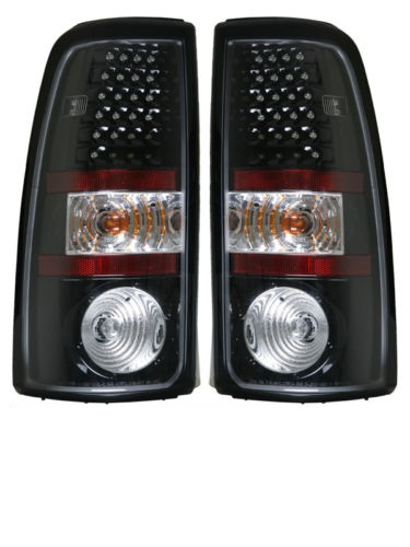 Tiffin Zephyr Black LED Upper Tail Light Assembly Pair (Left & Right)