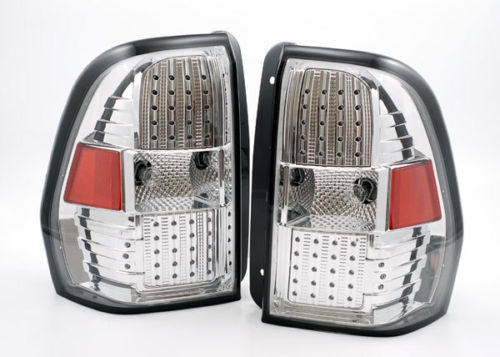 Newmar King Aire Lower Chrome LED Tail Light Assembly Pair (Left & Right)
