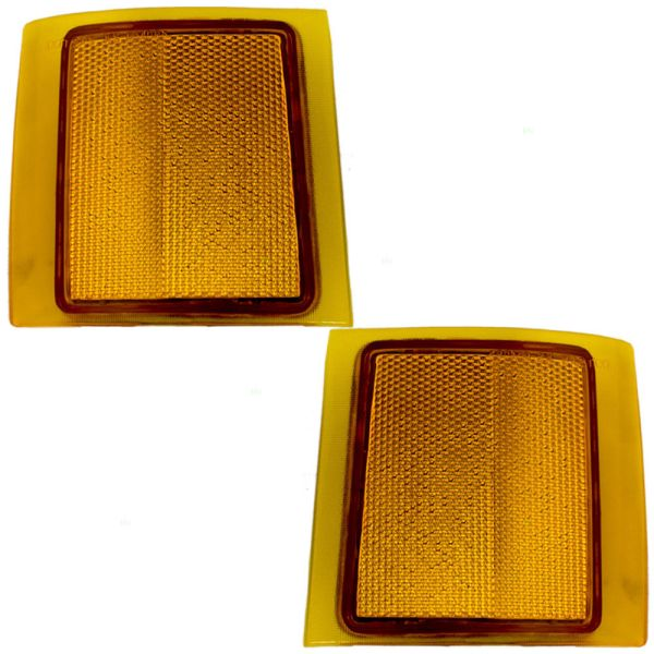 Fleetwood Discovery Replacement Upper Side Marker Light Pair (Left & Right)