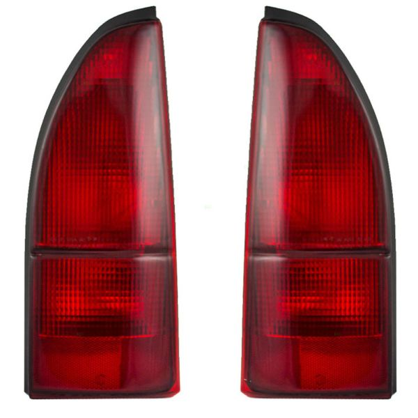 Holiday Rambler Navigator Upper Replacement Tail Light Assembly Pair (Left & Right)