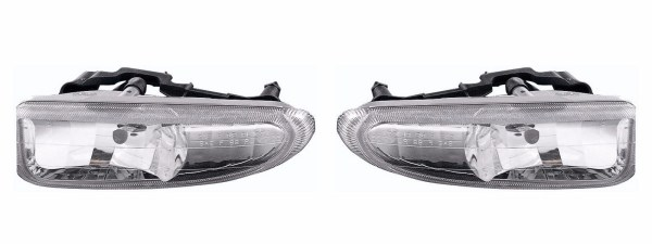 Fleetwood Discovery Replacement Fog Light Assembly Pair (Left & Right)