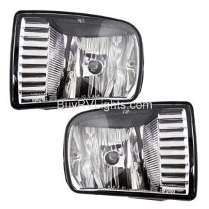 Holiday Rambler Ambassador Replacement Fog Light Assembly Pair (Left & Right)