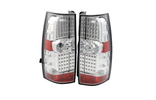 Itasca Ellipse Replacement Chrome Upper Taillights Assembly Pair (Left & Right)