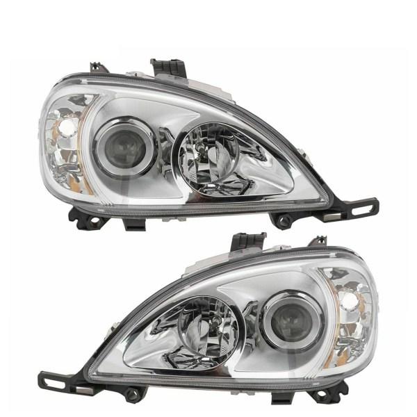 Coachmen Aurora Replacement Right & Left Side Headlight Assemblies Pair