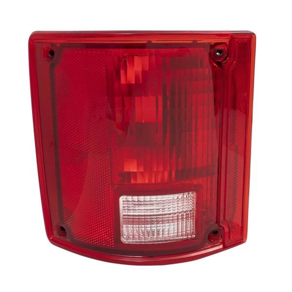 Monaco Camelot Left (Driver) Replacement Tail Light Lens & Housing