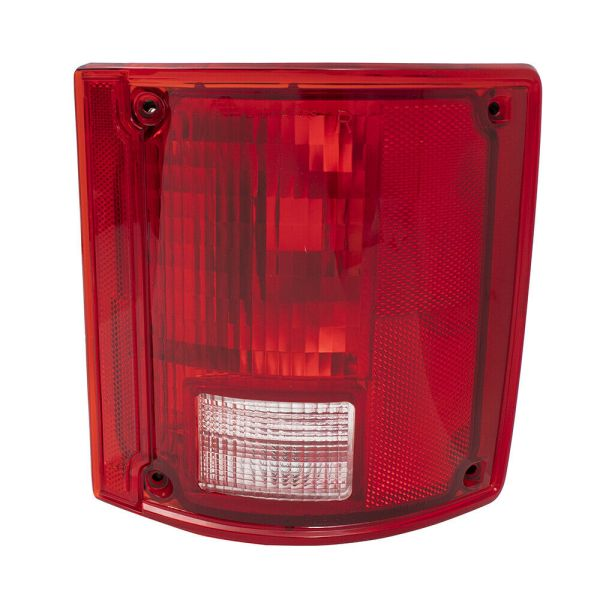 National RV Surf Side Right (Passenger) Lower Replacement Tail Light Lens & Housing