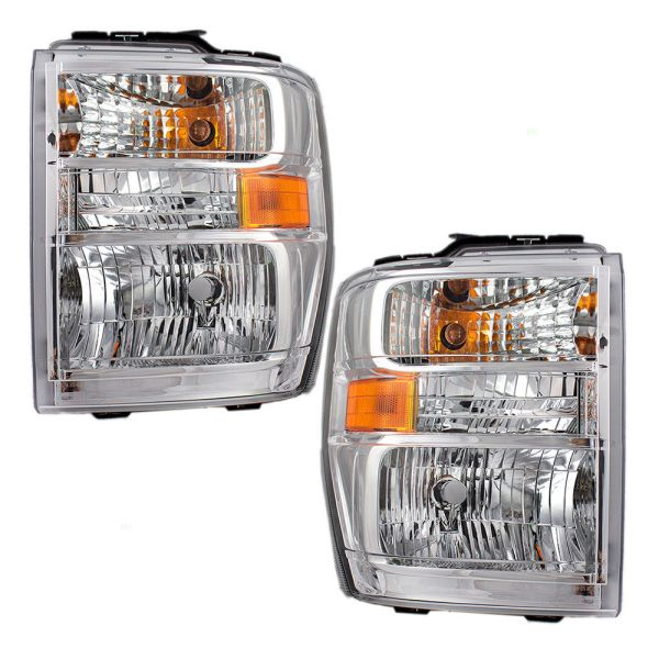 Jayco Greyhawk Replacement Headlights Unit Pair (Left & Right)