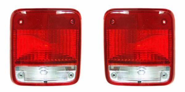 Fleetwood Bounder Tail Light Rear Lamp Unit Pair (Left & Right)