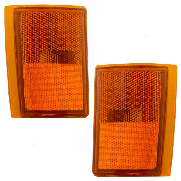Tiffin Allegro Bay Lower Side Marker Lamp Unit Pair (Left & Right)