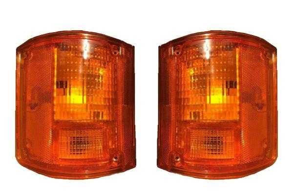 Holiday Rambler Ambassador Replacement Rear Turn Signal Light Lens & Housing Pair (Left & Right)