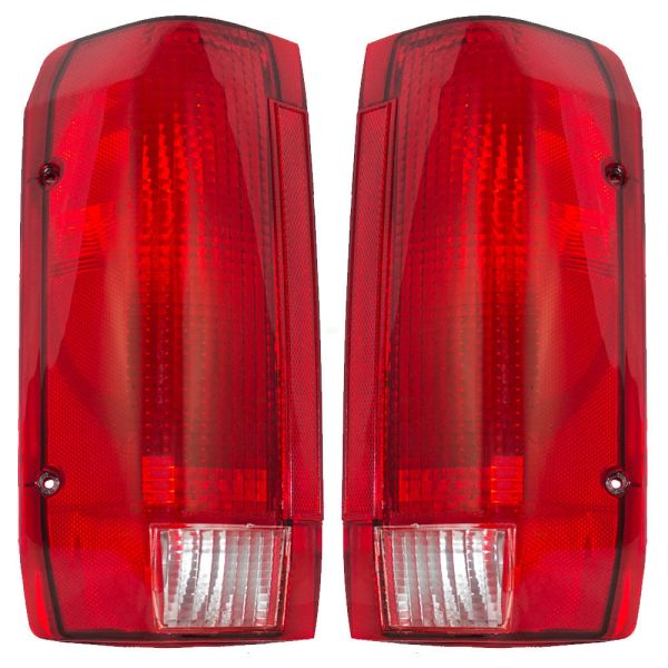 Monaco Executive Upper Replacement Tail Light Unit Pair (Left & Right)