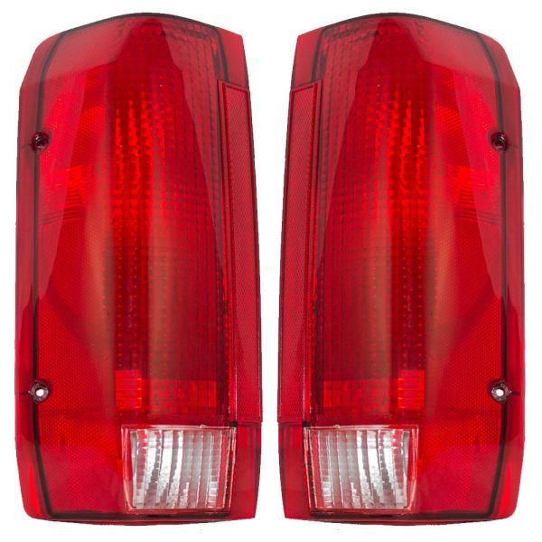 Monaco Executive Upper Replacement Tail Light Unit Pair (Left & Right)