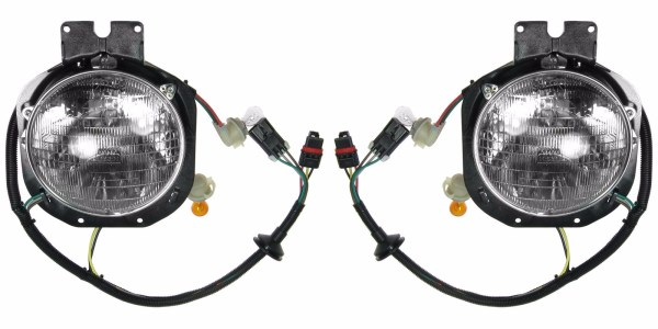 Safari Cheetah Replacement Outer Headlight Assembly Pair (Left & Right)