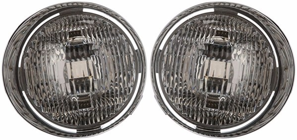 Safari Cheetah Replacement Inner Headlight Unit Pair (Left & Right)