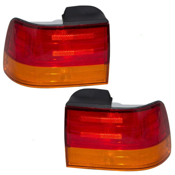 Fleetwood American Tradition Upper Replacement Tail Lights Unit Pair (Left & Right)