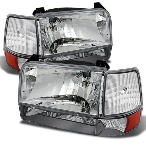 Country Coach Affinity Diamond Clear Headlights