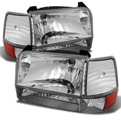 Fleetwood Flair Diamond Clear Headlights