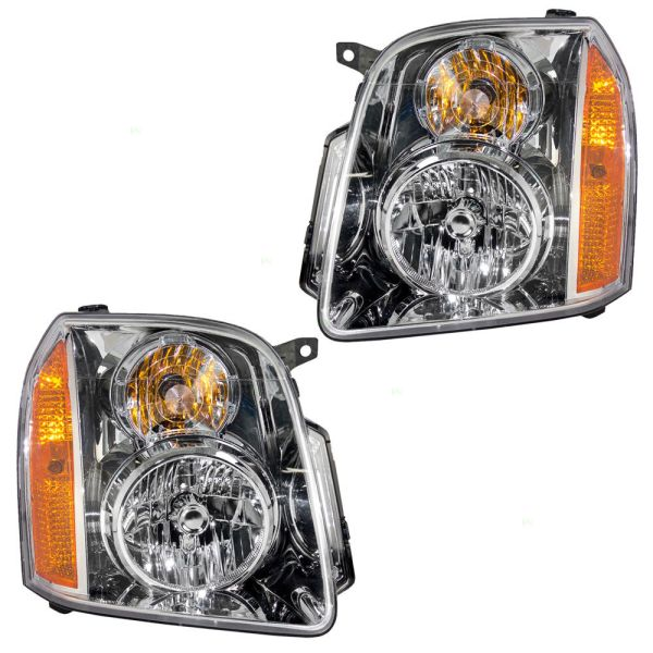 Fleetwood Discovery Replacement Headlight Assembly Pair (Left & Right)
