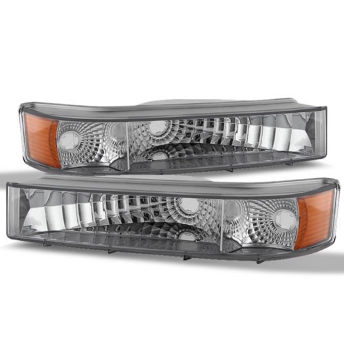 National RV Surf Side Diamond Clear Turn Signal Lights Lamps (Left & Right)