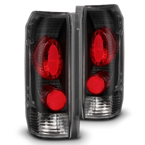 Monaco Executive Lower Black Performance Tail Light Unit Pair (Left & Right)