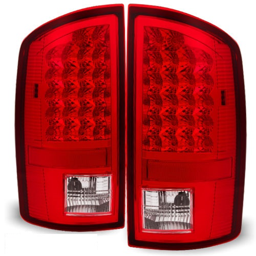 Newmar Ventana Red LED Tail Lights Rear Lamps Assembly Pair (Left & Right)