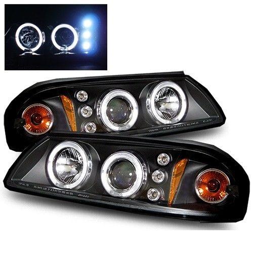 Winnebago Adventurer Black Projector Headlights Unit Pair (Left & Right)