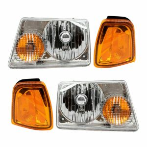 Winnebago Vista Headlights & Signal Lamps 4 Piece Set (Left & Right)