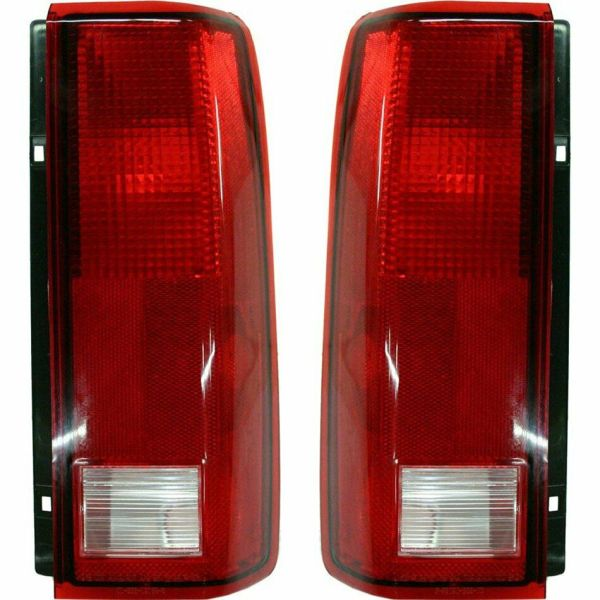 Fleetwood American Eagle Replacement Upper & Lower Rear Lights Tail Lamps 4 Piece Set (Left & Right)