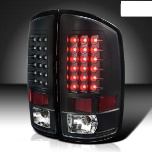 Tiffin Allegro Bus LED Black Tail Light Assembly Pair (Left & Right)