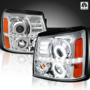 Four Winds Mandalay Chrome Projector LED  Assembly Pair (Left & Right)